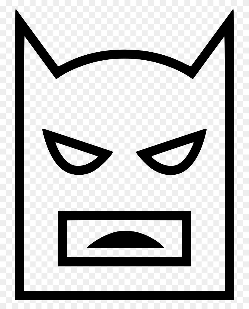 Download Icon Batman White Png Clipart Batman Joker Clip Art - Batman Clipart Black And White