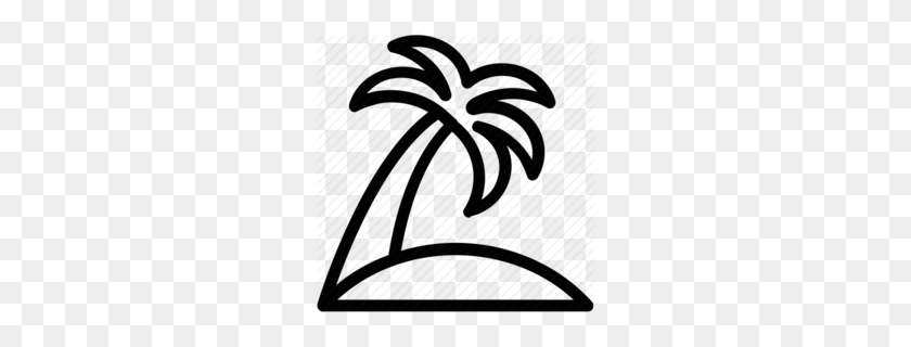 Download Icon Coconut Tree Clipart Palm Trees Coconut Coconut - Palm Tree With Coconuts Clipart