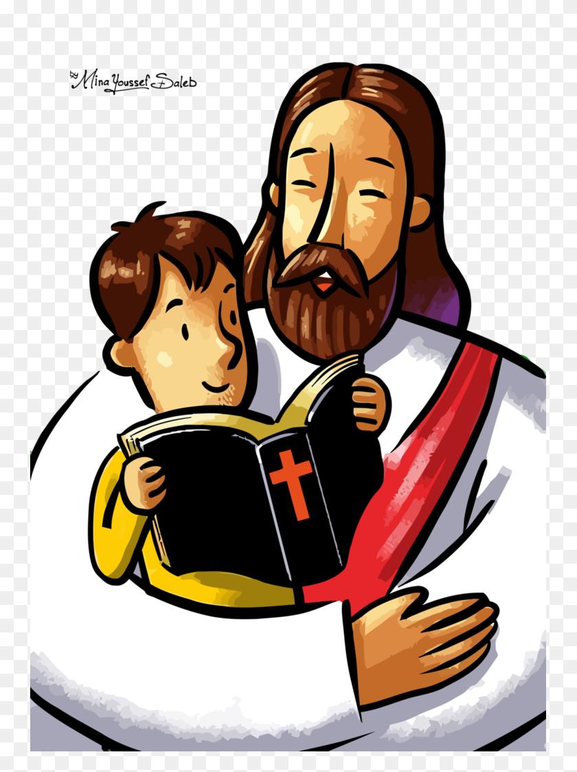 Download Jesus And Children Vector Clipart Child Christianity - Jesus And Children Clipart