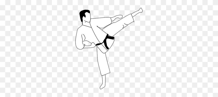 Download Karate Vector Png Clipart Martial Arts Clip Art Black - Martial Arts Clipart