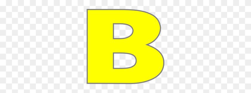 Download Letter B Color Yellow Clipart Letter Alphabet Clip Art - Letter Clipart PNG