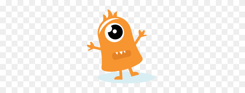 260x260 Download Little Monster Png Clipart Clip Art - Monster Mouths Clipart