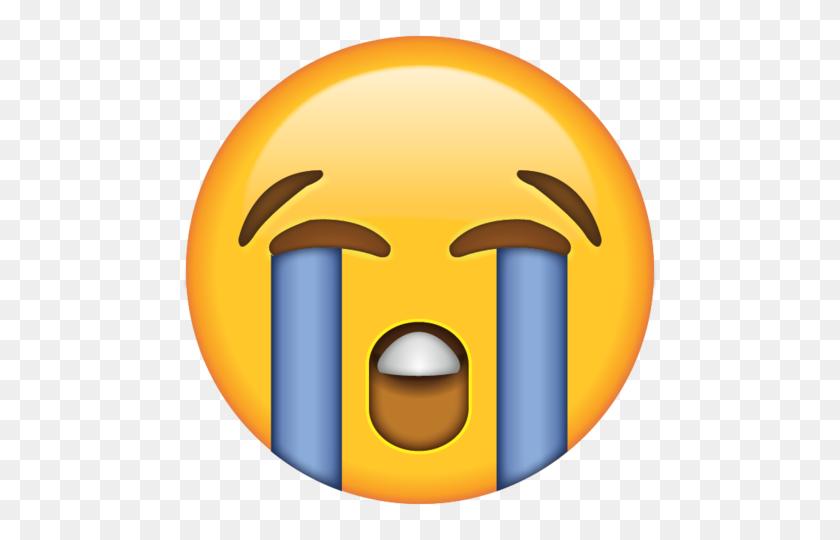 Download Loudly Crying Face Emoji Icon Emojis - Money Emoji PNG