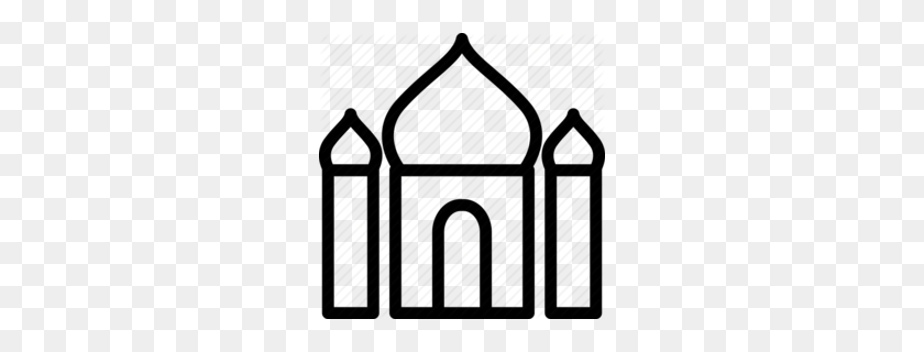 260x260 Download Mewarnai Masjid Clipart Hassan Ii Mosque Clip Art - Monument Clipart