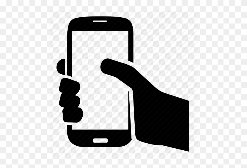 Download Mobile Phone In Hand Icon Clipart Computer Icons - Hand In Hand Clipart