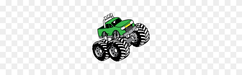 200x200 Download Monster Truck Category Png, Clipart And Icons - Monster Truck PNG