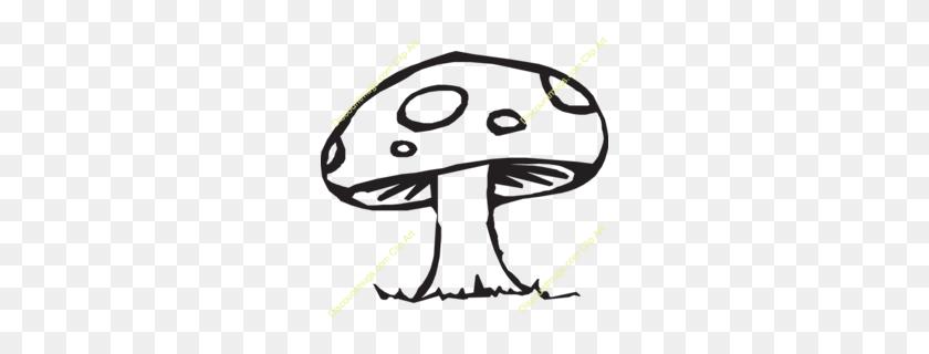 Download Mushroom Clip Art Clipart Common Mushroom Clip Art - Mushroom Clipart