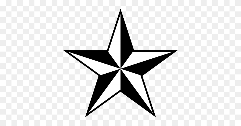 Download Nautical Star Tattoos Free Png Transparent Image And Clipart - Star PNG Image