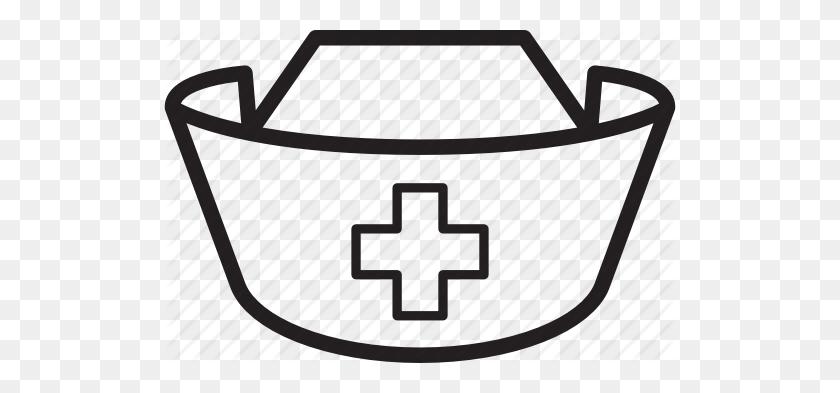 Download Nurse Hat Outline Clipart Nurse's Cap Nursing Clip Art - Nurse Symbol Clipart