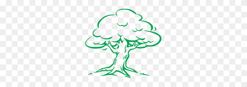 Download Oak Tree Drawing Easy Clipart Drawing Clip Art Tree - Tree Drawing PNG
