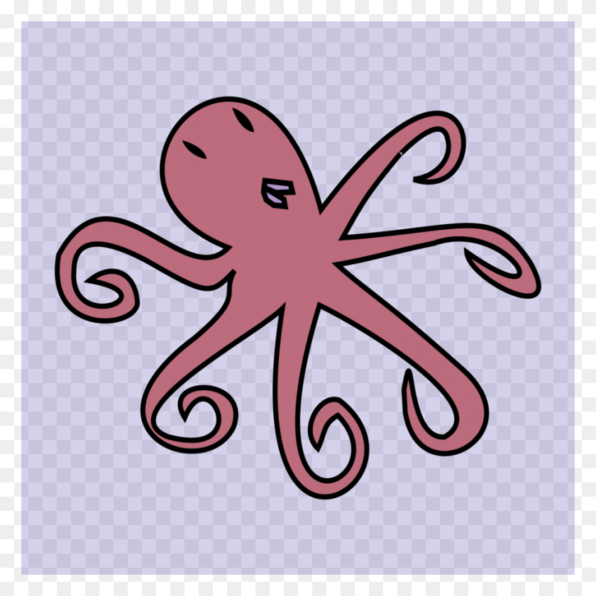 Download Octopus Clipart Octopus Clip Art Octopus, Pink, Font - Octopus Clipart