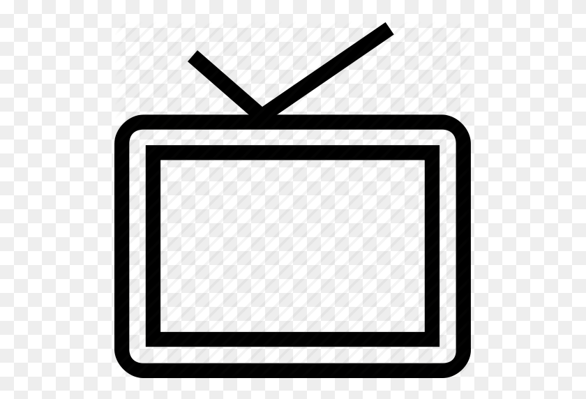 Download Old Fashioned Tv Outline Clipart Television Clip Art - Old Fashioned Camera Clipart