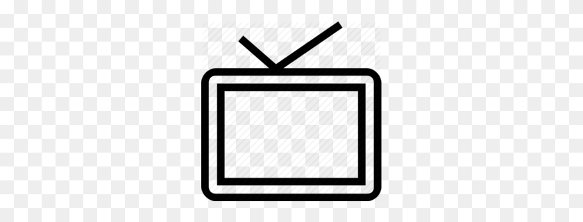 Download Old Fashioned Tv Outline Clipart Television Clip Art - Old Tv Clipart