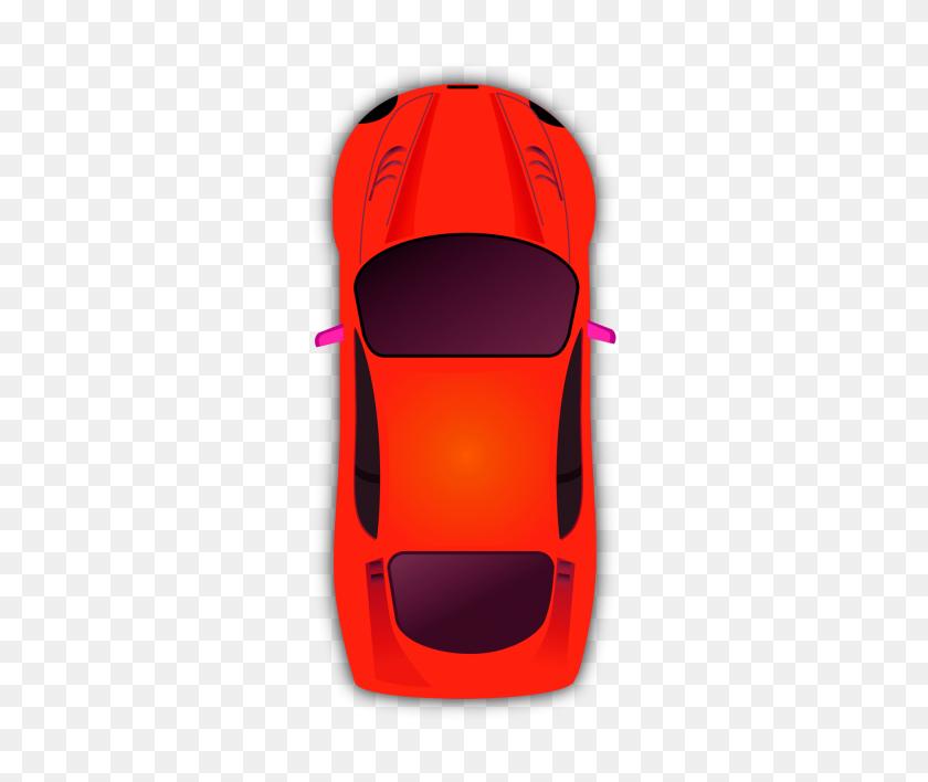Download Orange Vector Car Png Cartoon Clipart Download Png - Red Car PNG