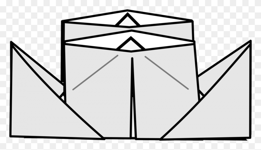 Download Origami Clipart Origami Paper Clip Art Paper - Paper Clipart Transparent