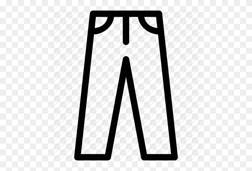 Download Pant Icon Clipart Pants Computer Icons Clothing Pants - Pants Clipart Black And White
