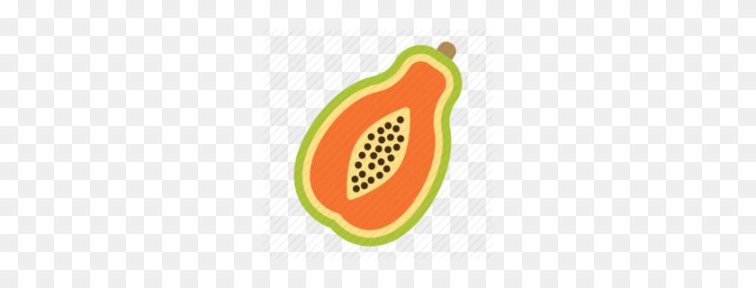 Download Papaya Vector Clipart Papaya Clip Art Papaya - Drain Clipart