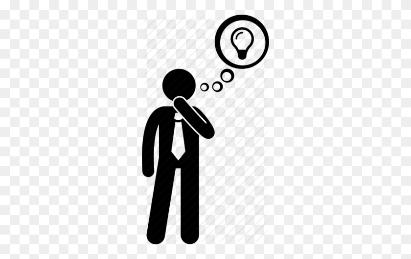 Download Person Thinking Icon Clipart Computer Icons Person - People Thinking Clipart