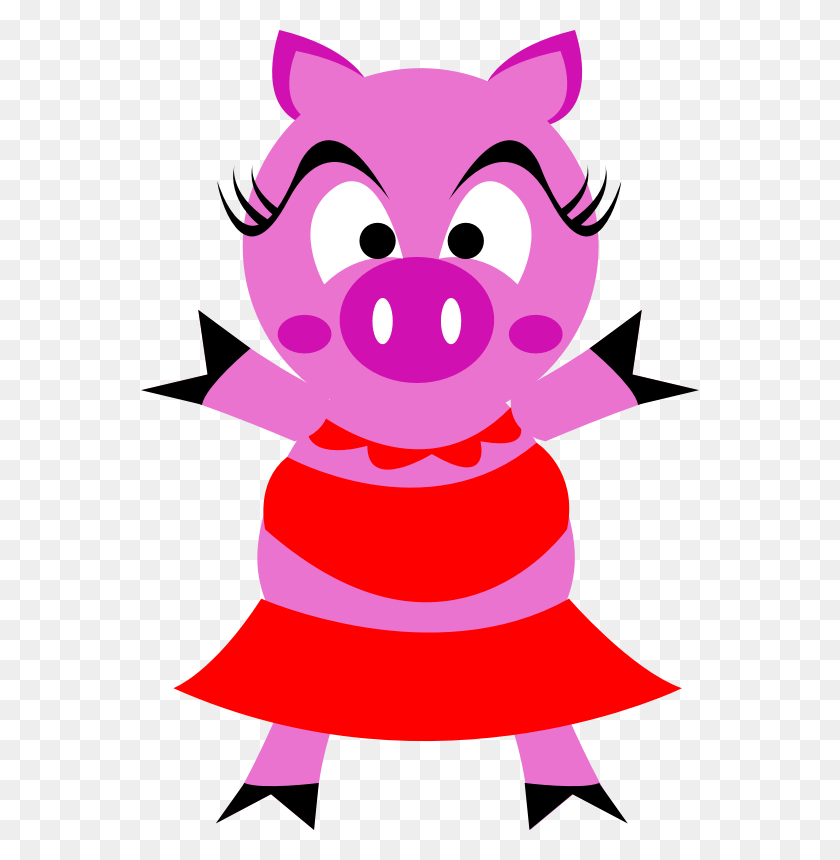 Download Pig Clip Art Free Cute Clipart Of Baby Pigs More! - Pig Face Clipart