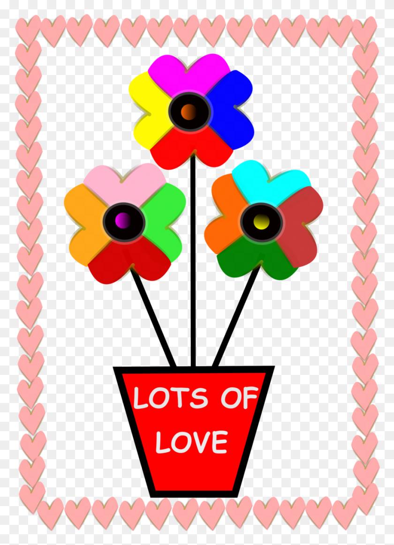 Download Pink Hearts Border Clipart Borders And Frames Clip Art - Love Border Clipart