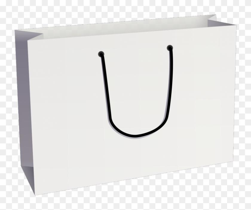 Download Plain White Shopping Bags Clipart Paper Shopping Bags - Purse Clipart Black And White