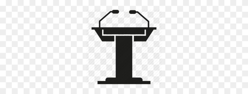 Download Podium Speaker Podium Clipart Microphone Public Speaking - Old Microphone Clipart