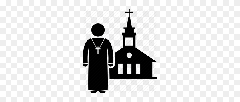 Download Priest And Church Clipart Clip Art - Priest Clipart