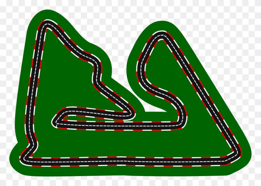 Download Racetrack Clipart Race Track Auto Racing Clip Art - Racing Flag Clipart