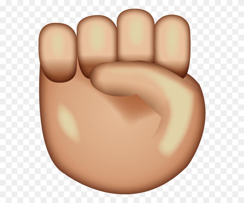 Download Raised Fist Emoji Emoji Island - Raised Fist Clip Art