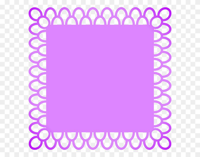 Download Scalable Vector Graphics Clipart Clip Art Graphics - Purple Border Clipart