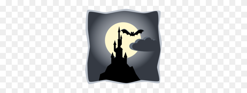 Download Scary Castle Drawing Clipart Drawing Clip Art Drawing - Scary Ghost Clipart