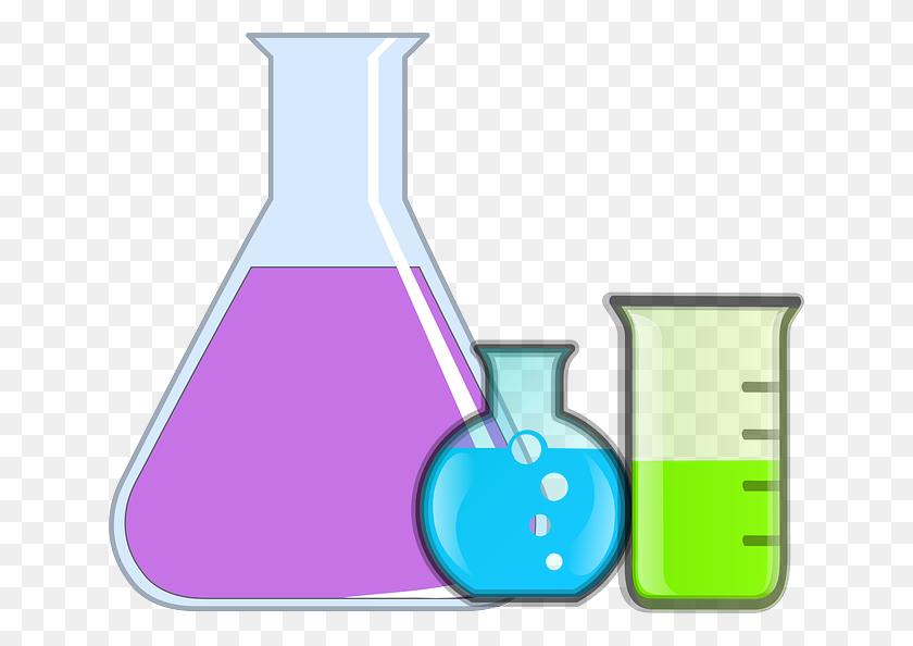 Download Sciences Physiques Clipart Laboratory Beaker Clip - Science Equipment Clipart