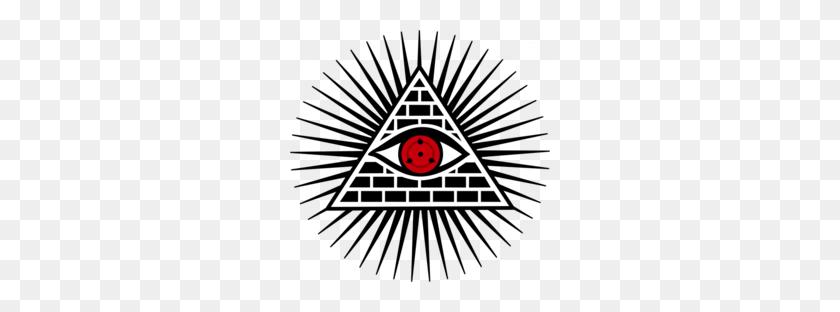 Download Sharingan Illuminati Clipart Illuminati Freemasonry Eye - Illuminati Clipart