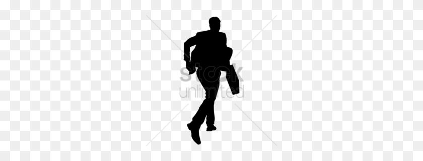 260x260 Download Shiloutte Business Man Clipart Silhouette Clip Art - Man Silhouette Clipart
