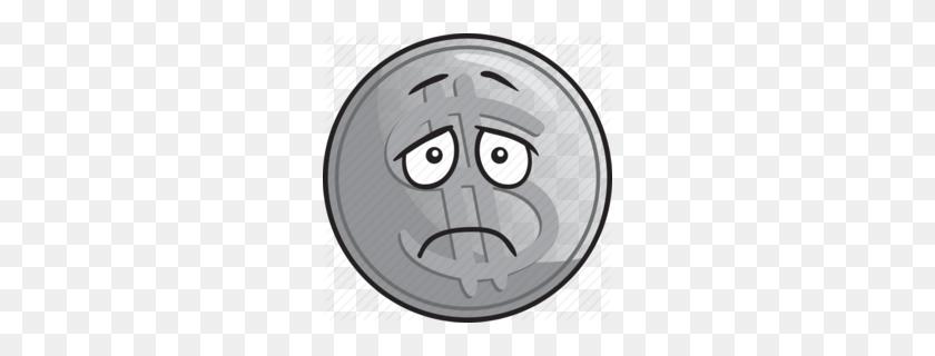 Download Silver Coin Emoji Clipart Silver Coin Clip Art Coin - Penny Clipart