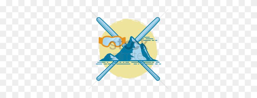 Download Ski Clipart Skiing Snowboard Skiing, Sports - Ski Clipart