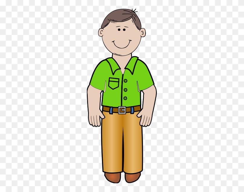 Download Standing Stick Man Parent Clipart - Person Standing Clipart
