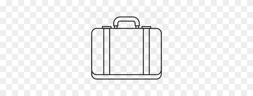 Download Suitcase Outline Clipart Suitcase Clip Art - Suitcase Clipart