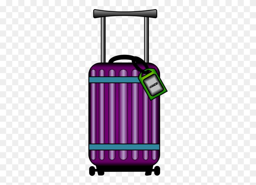 Download Suitcase Transparent Clipart Suitcase Baggage Clip Art - Vintage Suitcase Clipart