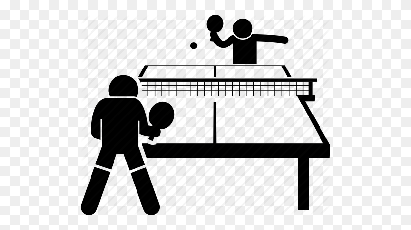 512x410 Download Table Tennis Png Clipart Ping Pong Clip Art Clipart - Table Tennis Clipart