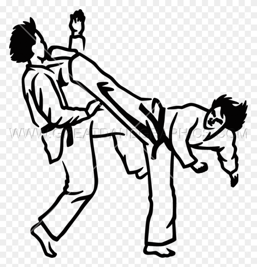 Download Taekwondo Clip Art Clipart Taekwondo Martial Arts Clip - Martial Arts Clipart