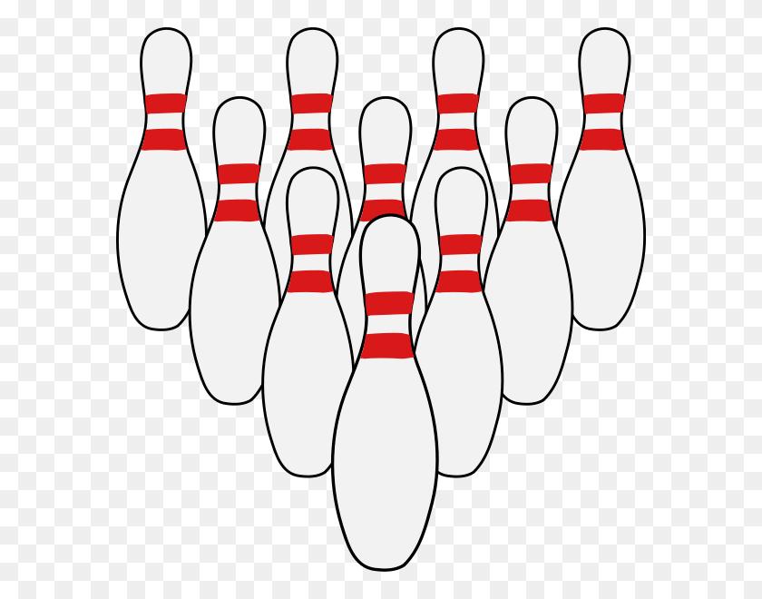 584x600 Download Ten Pins Clipart Bowling Pin Ten Pin Bowling Clip Art - Bowling Ball Clipart