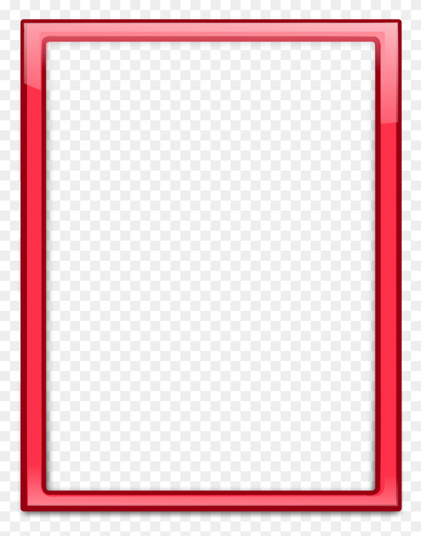 Download Transparent Red Frame Clipart Borders And Frames Picture - Paper Clipart Transparent