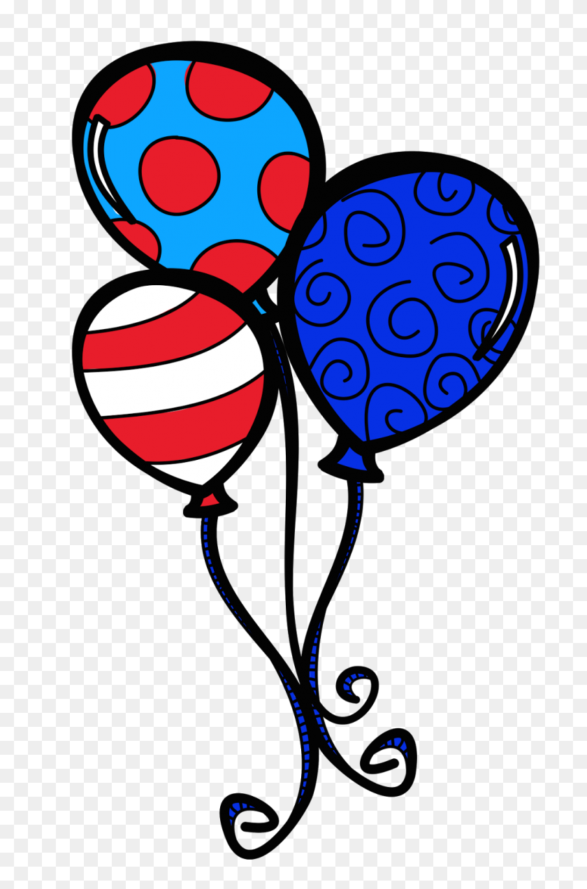 Dr Seuss Balloon Clipart Ryders Party Balloon - Dr Suess Clip Art