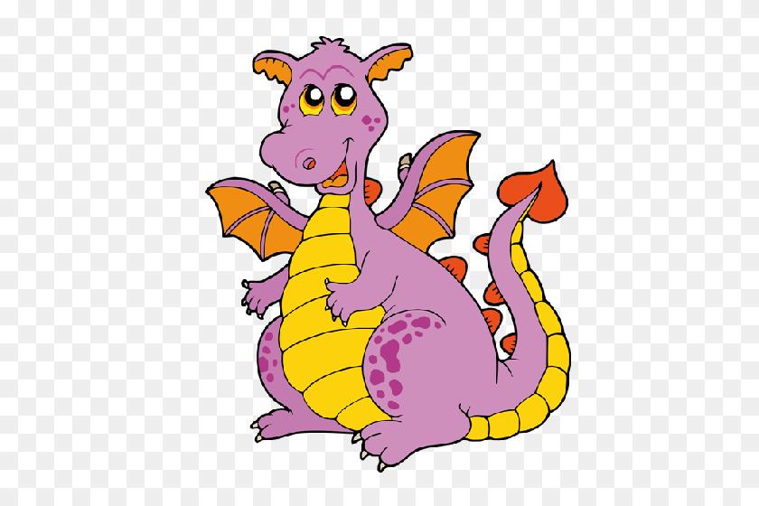 Dragon Clipart Cartoon - Flying Dragon Clipart
