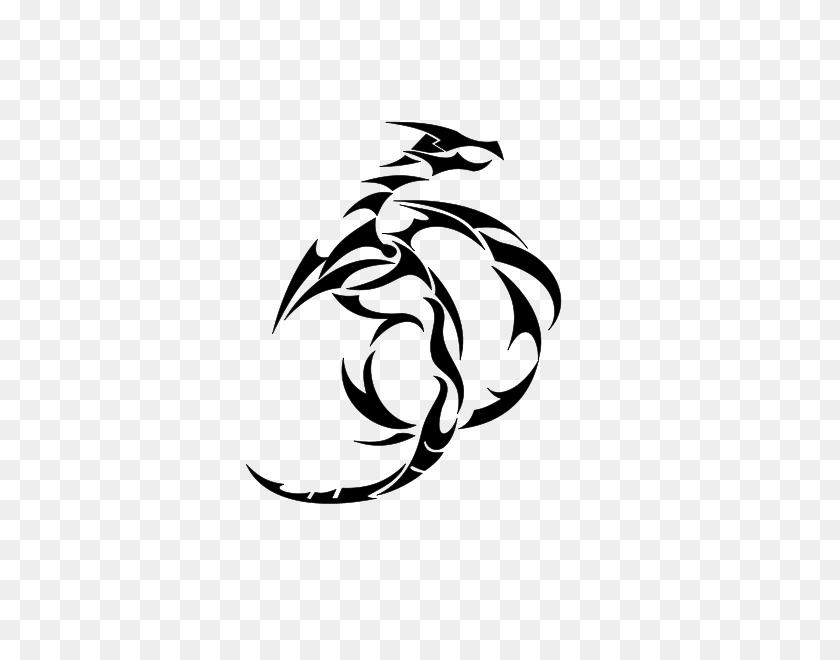 Dragon Corazon Png Clip Arts For Web - Black Dragon PNG