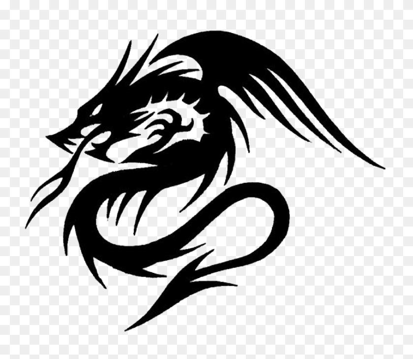 Dragon Tattoos Png Transparent Dragon Tattoos Images - Dragon Head PNG