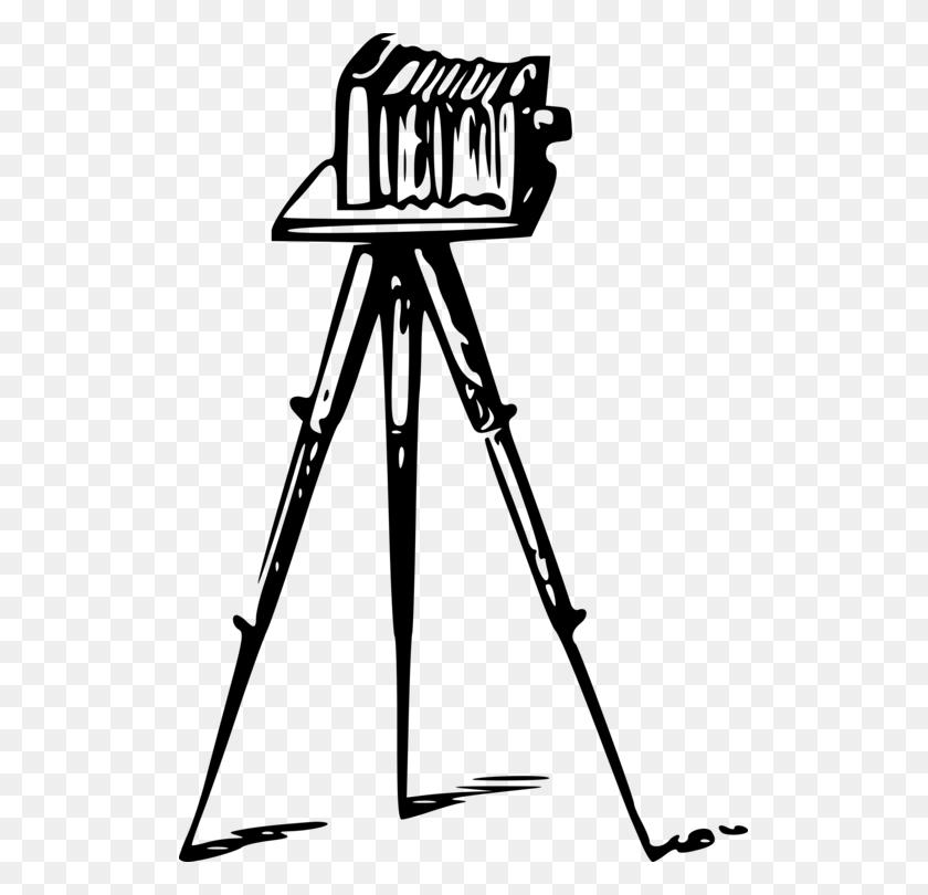 Drawing Camera Tripod Photographer - Tripod Clipart