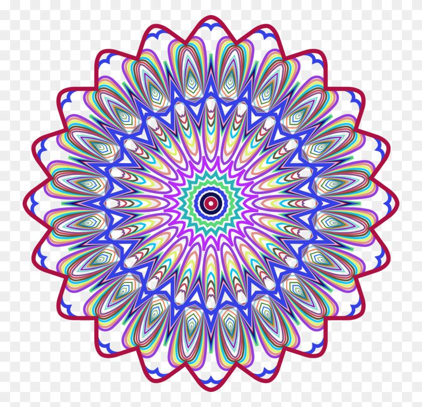 750x750 Drawing Line Art Printmaking Abstract Art - Mandala Clipart
