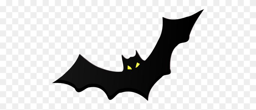 Drawn Bat Silhouette - Flying Dragon Clipart